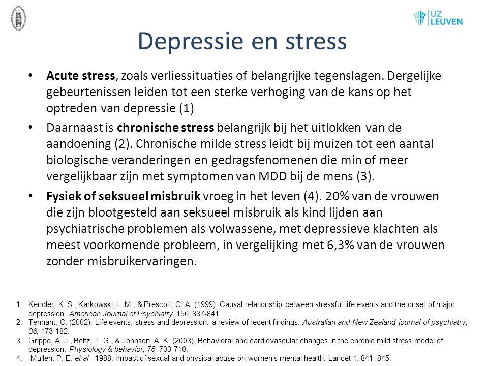 Depressie en stress