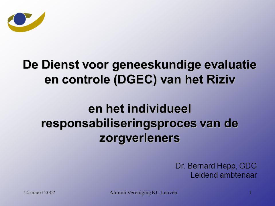 Dr. Bernard Hepp, GDG Leidend ambtenaar