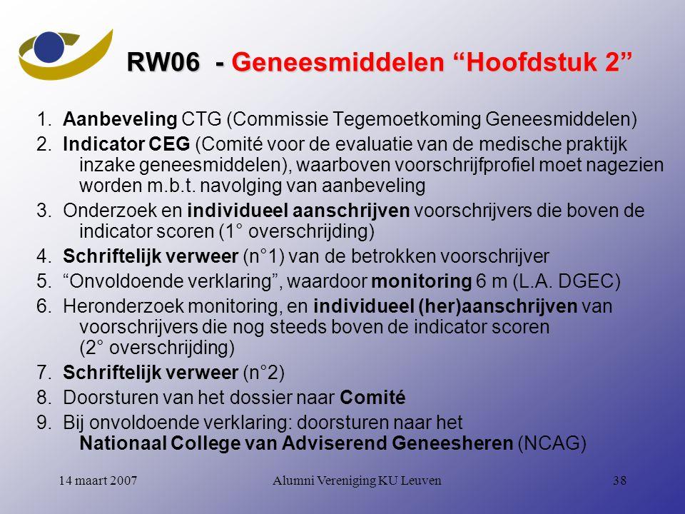 RW06 - Geneesmiddelen Hoofdstuk 2