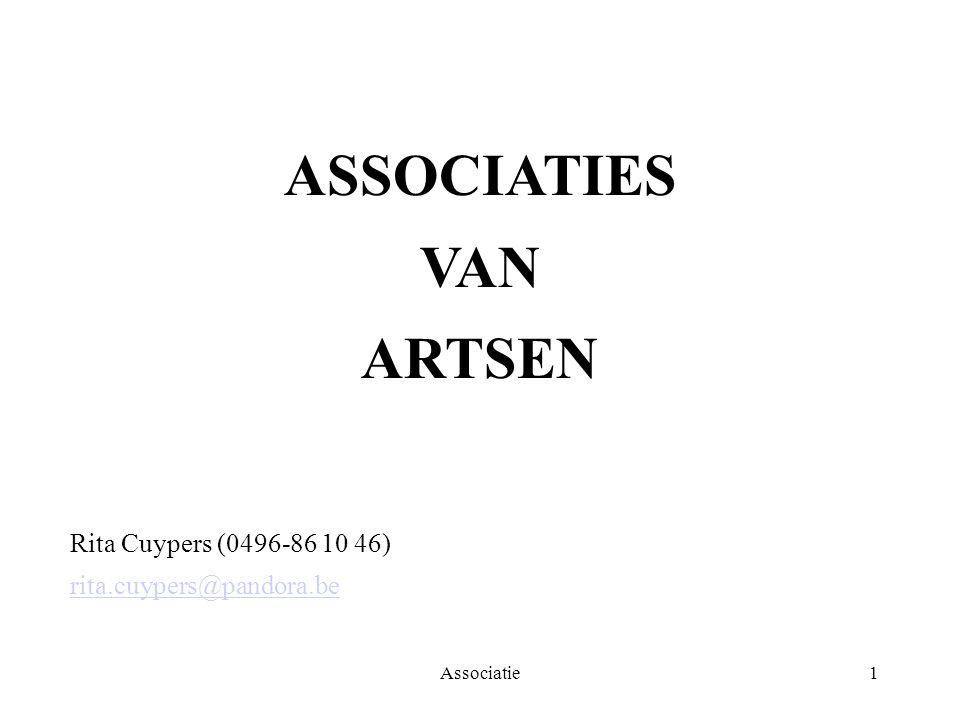 ASSOCIATIES VAN ARTSEN
