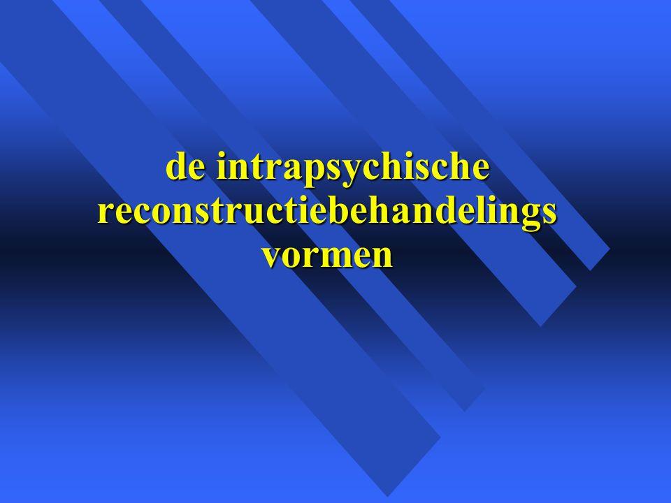 de intrapsychische reconstructiebehandelings vormen