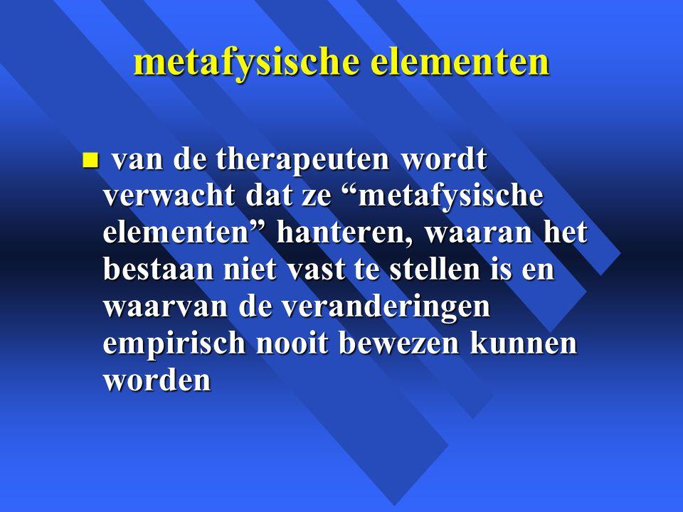 metafysische elementen