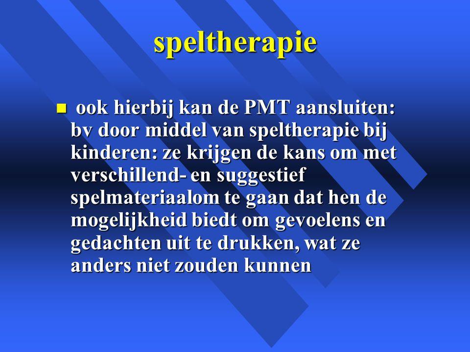 speltherapie