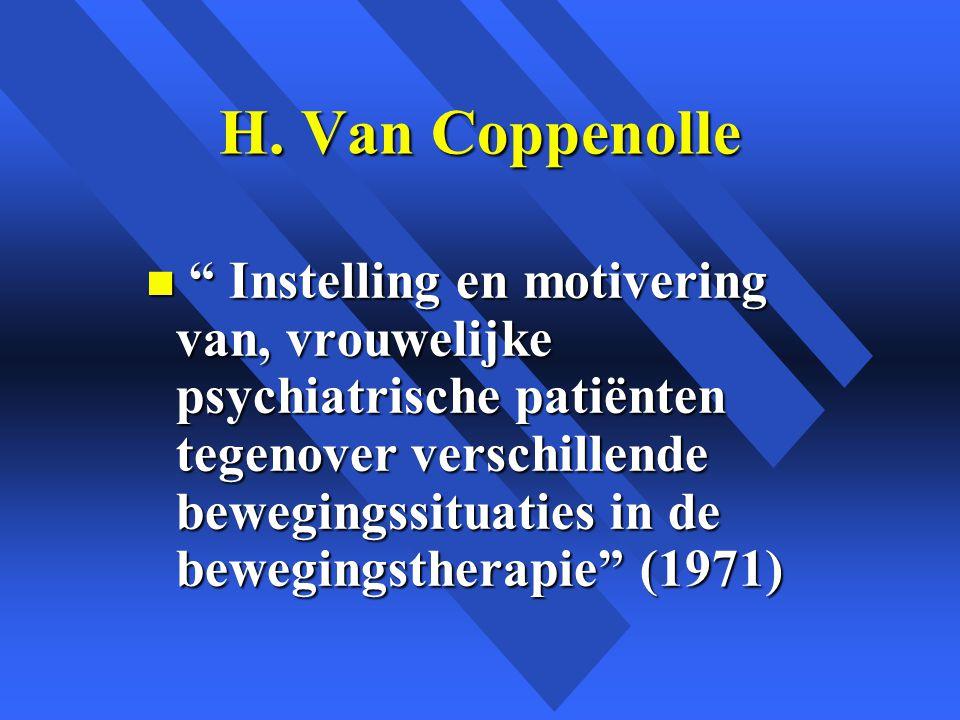 H. Van Coppenolle