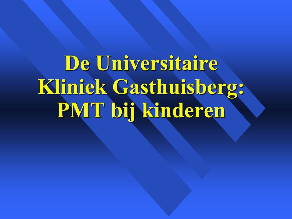 De Universitaire Kliniek Gasthuisberg: PMT bij kinderen