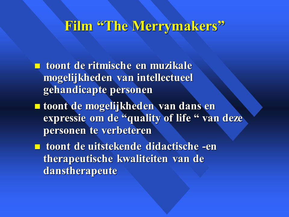 Film The Merrymakers