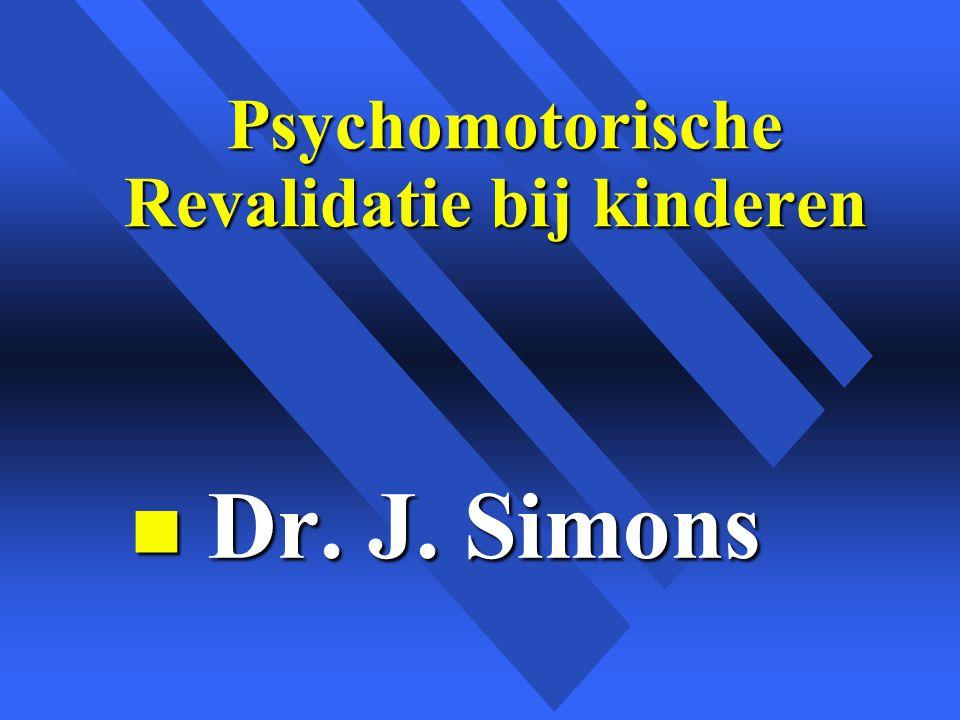 Psychomotorische Revalidatie bij kinderen