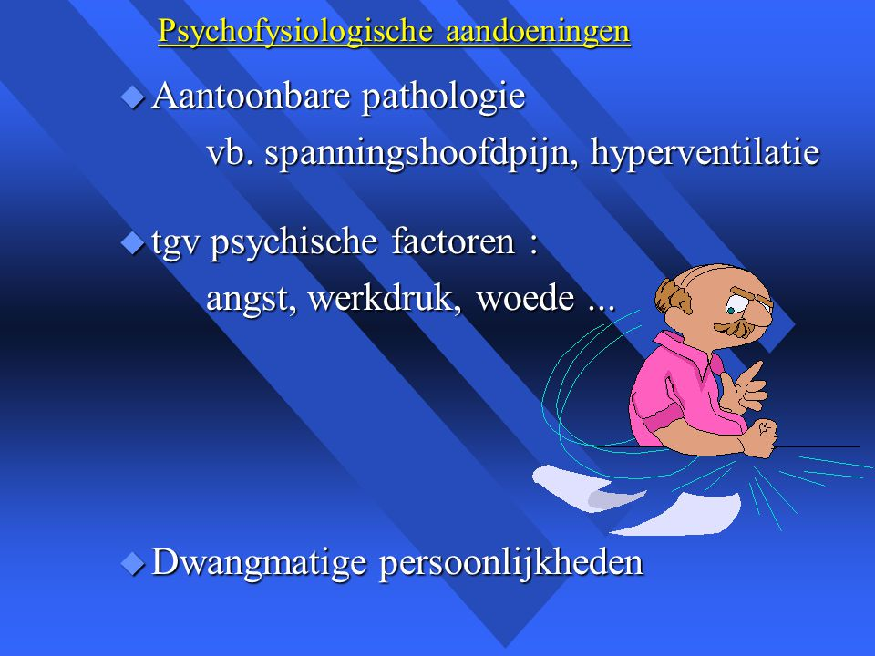 Psychofysiologische aandoeningen