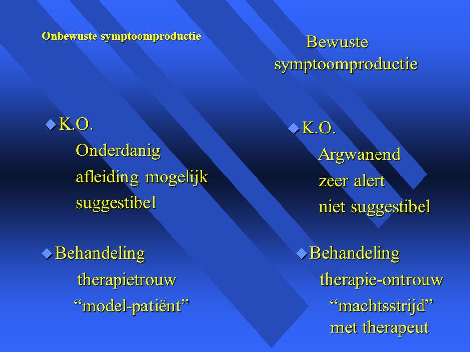 Onbewuste symptoomproductie