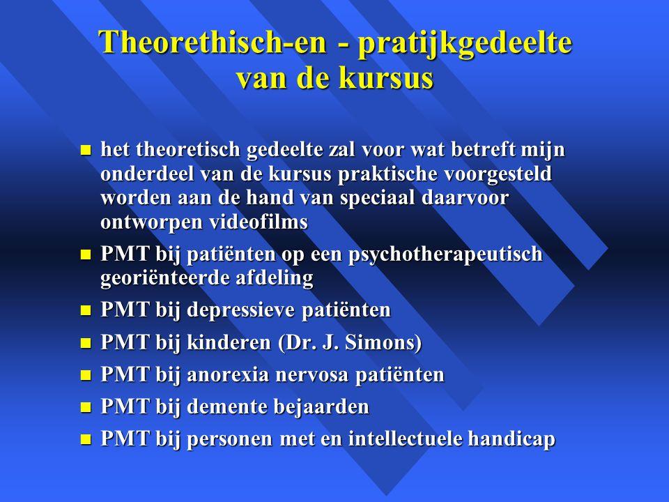 Theorethisch-en - pratijkgedeelte van de kursus