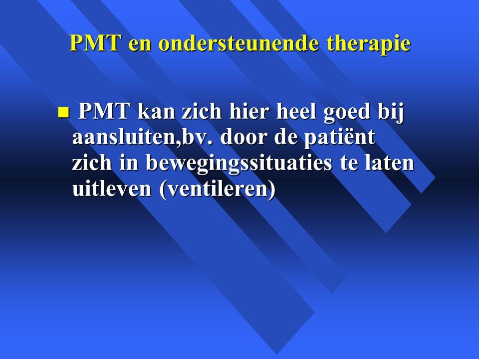 PMT en ondersteunende therapie