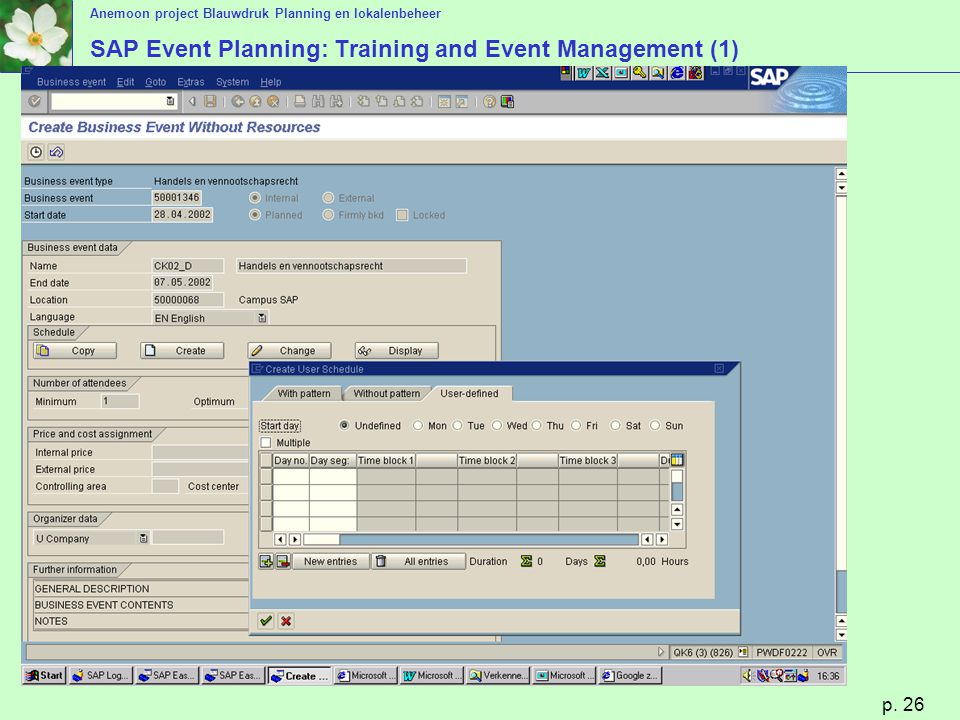 SAP Event Planning: Training and Event Management (1)
