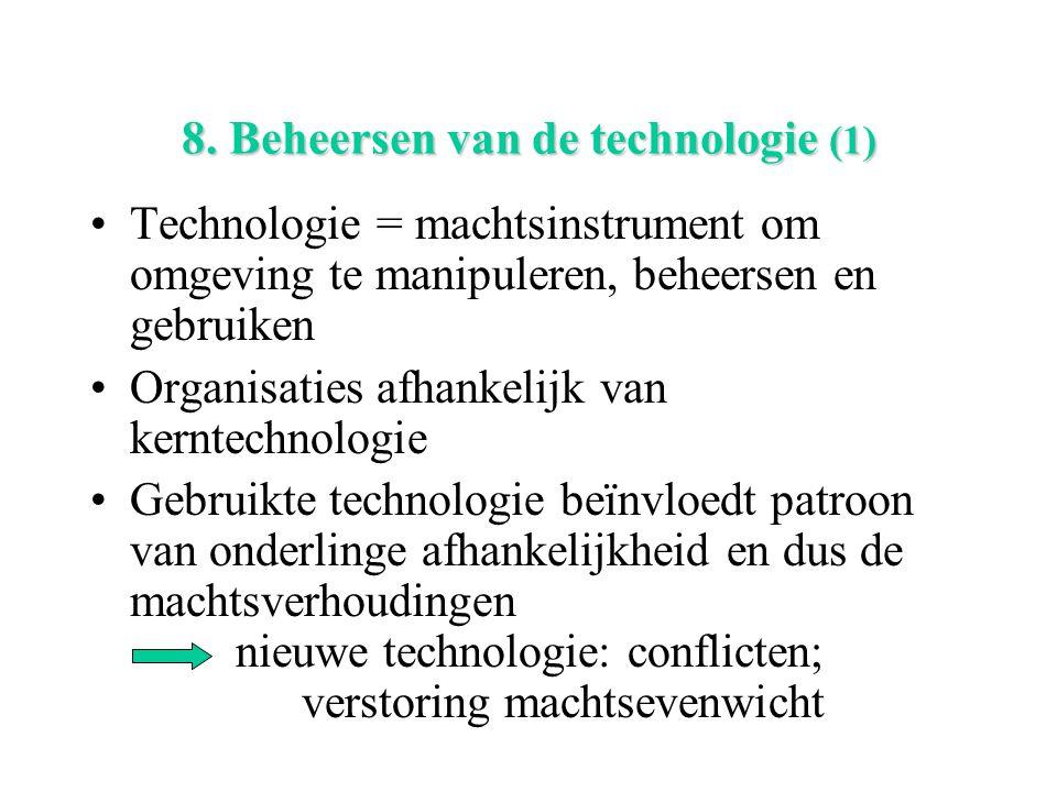 8. Beheersen van de technologie (1)