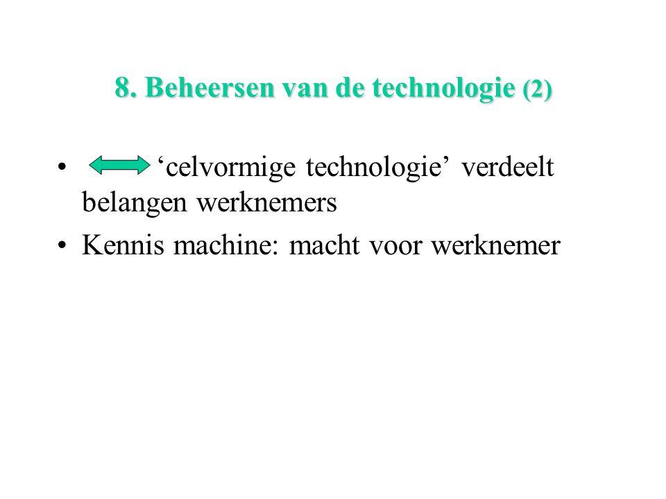 8. Beheersen van de technologie (2)