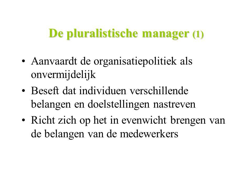 De pluralistische manager (1)