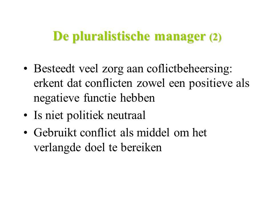 De pluralistische manager (2)