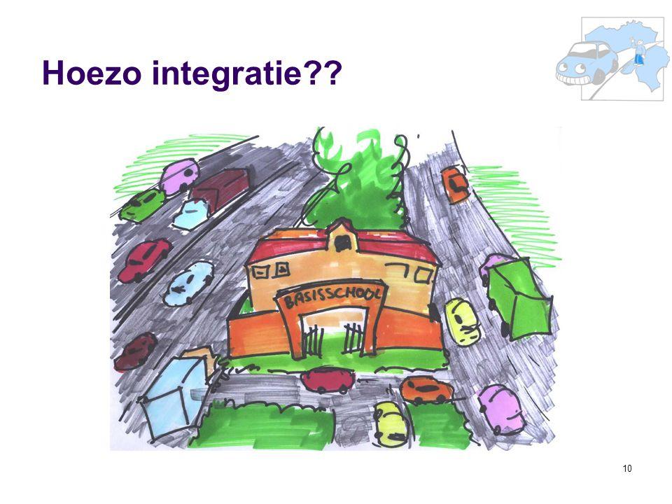 Hoezo integratie 36e Prof. R. Van Cauterenleerstoel