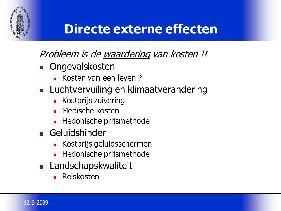 Directe externe effecten