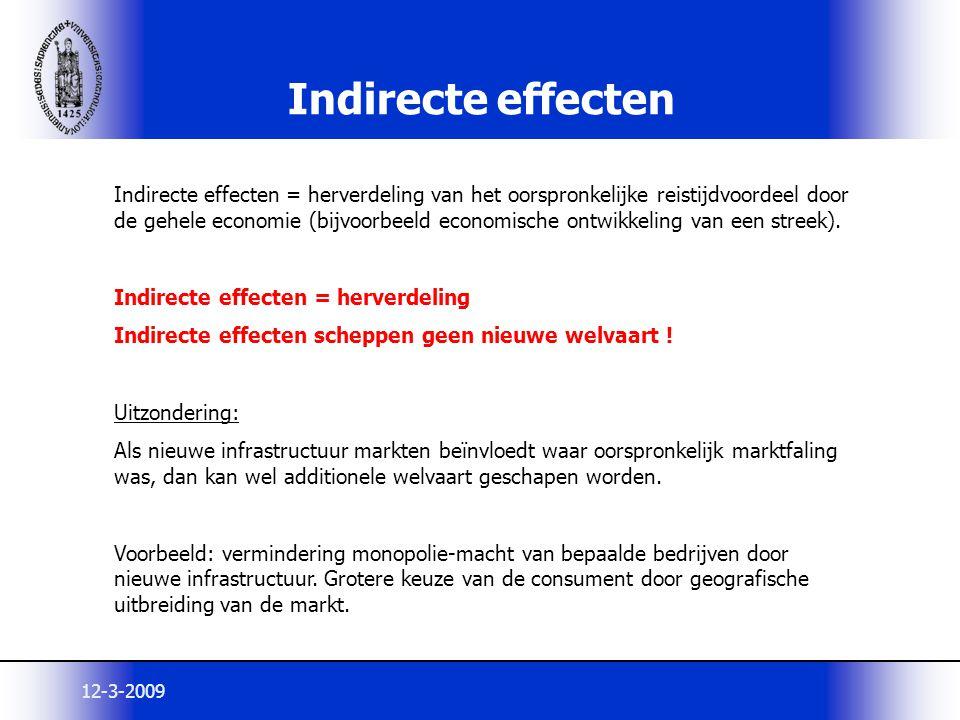 Indirecte effecten