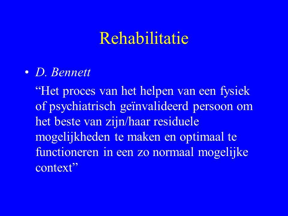 Rehabilitatie D. Bennett