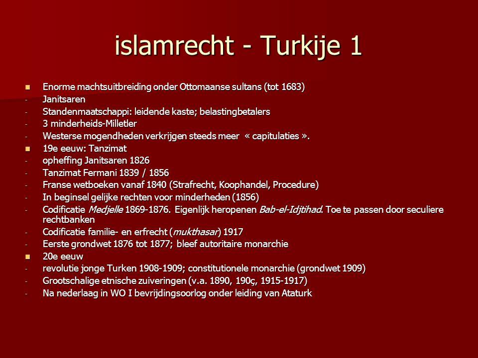 islamrecht - Turkije 1 Enorme machtsuitbreiding onder Ottomaanse sultans (tot 1683) Janitsaren.