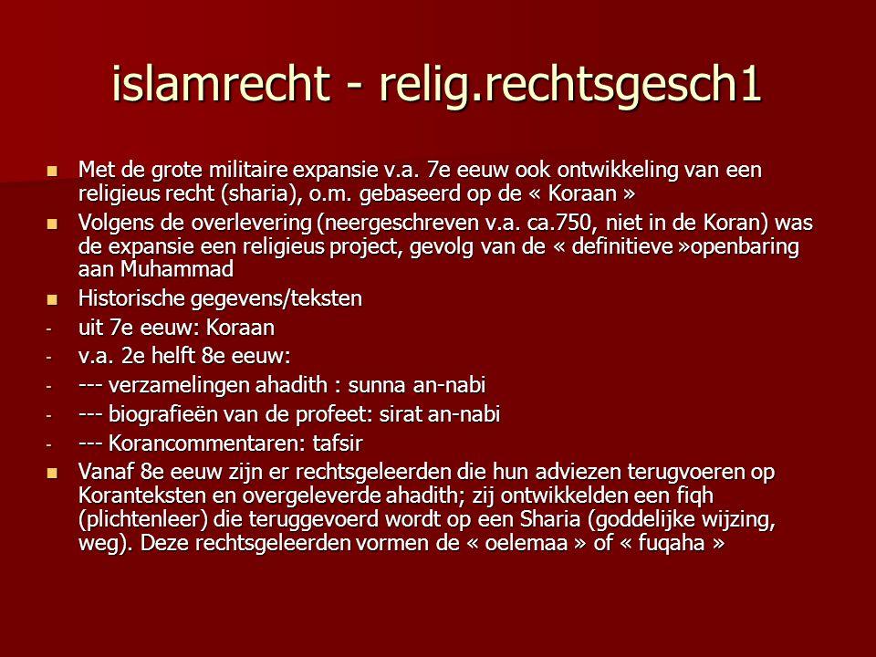islamrecht - relig.rechtsgesch1