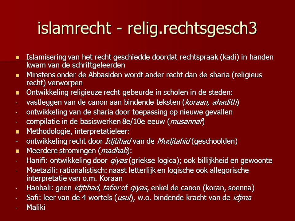 islamrecht - relig.rechtsgesch3