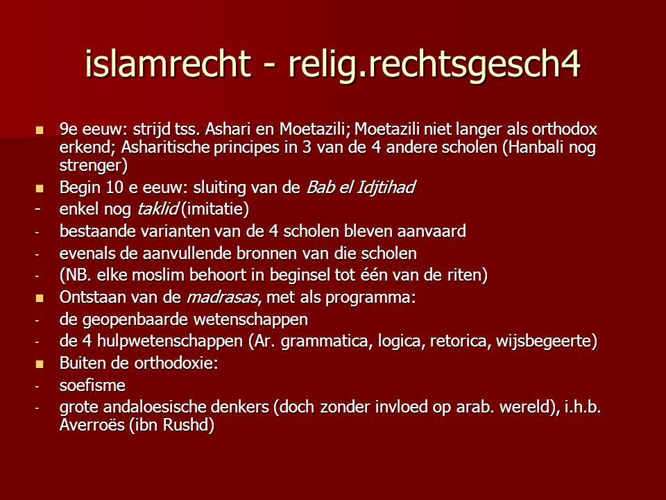 islamrecht - relig.rechtsgesch4