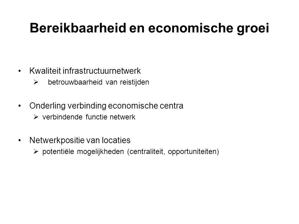 Bereikbaarheid en economische groei