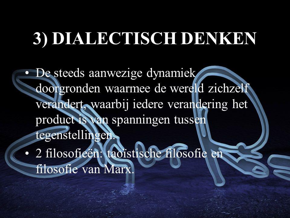 3) DIALECTISCH DENKEN