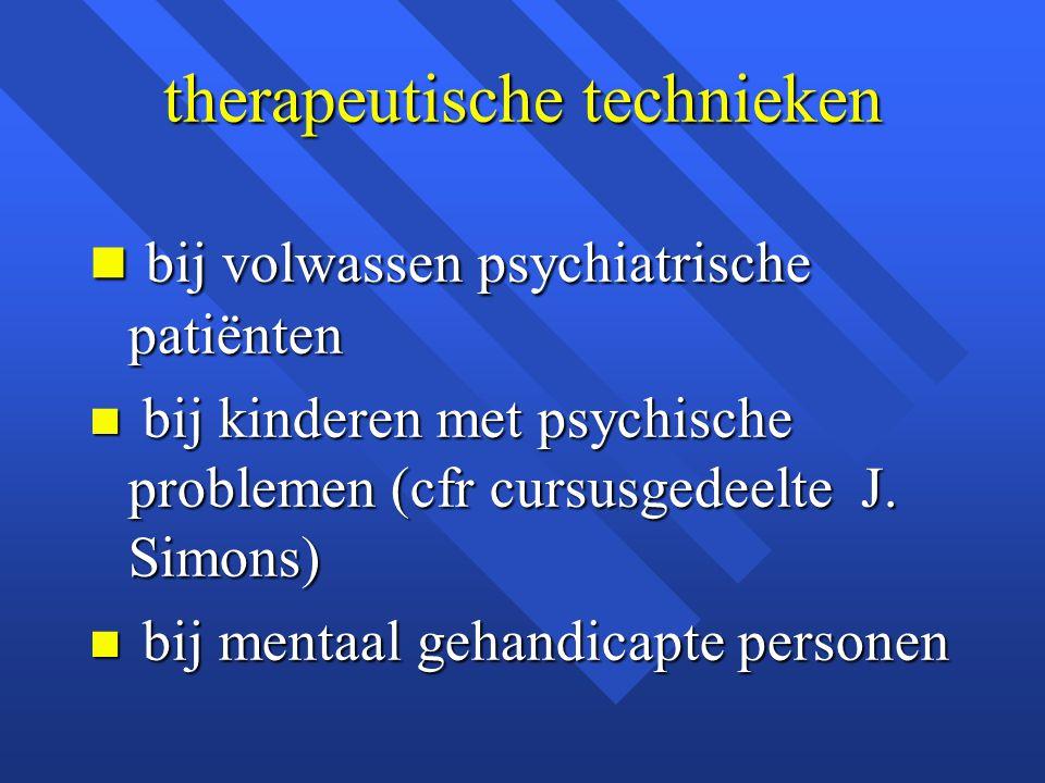 therapeutische technieken
