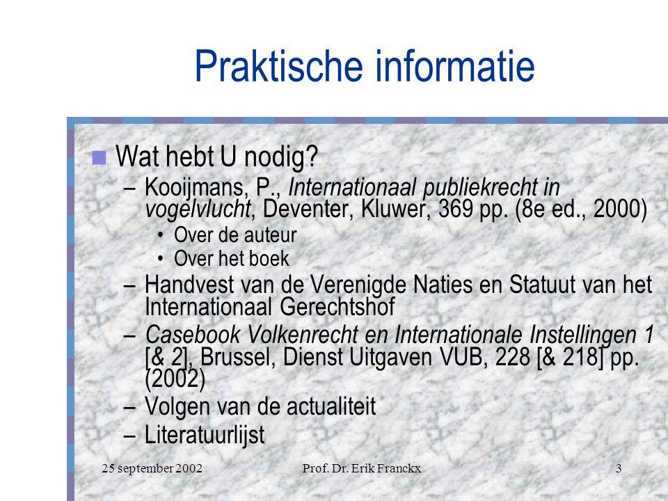 Praktische informatie