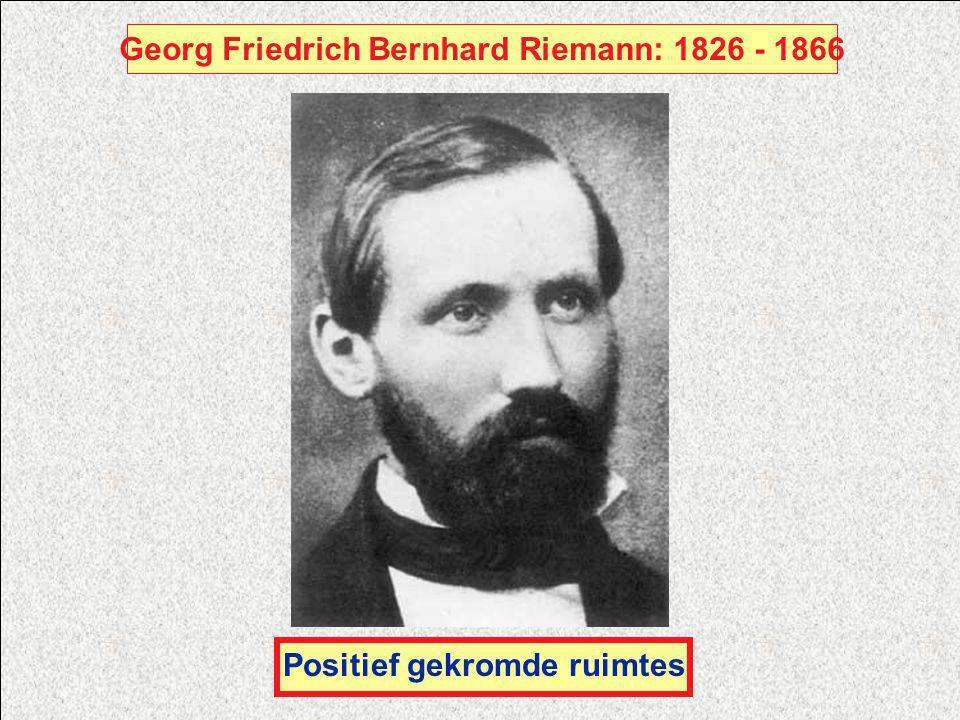 Georg Friedrich Bernhard Riemann: 1826 - 1866