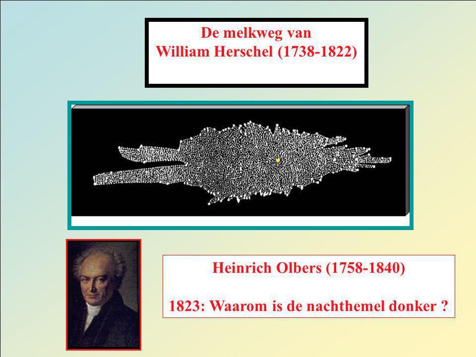 1823: Waarom is de nachthemel donker