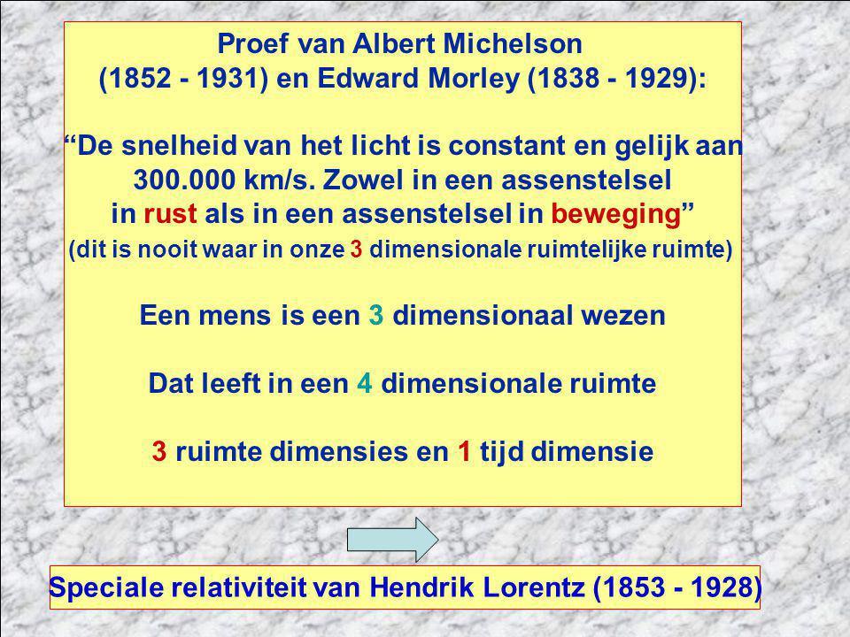 Proef van Albert Michelson