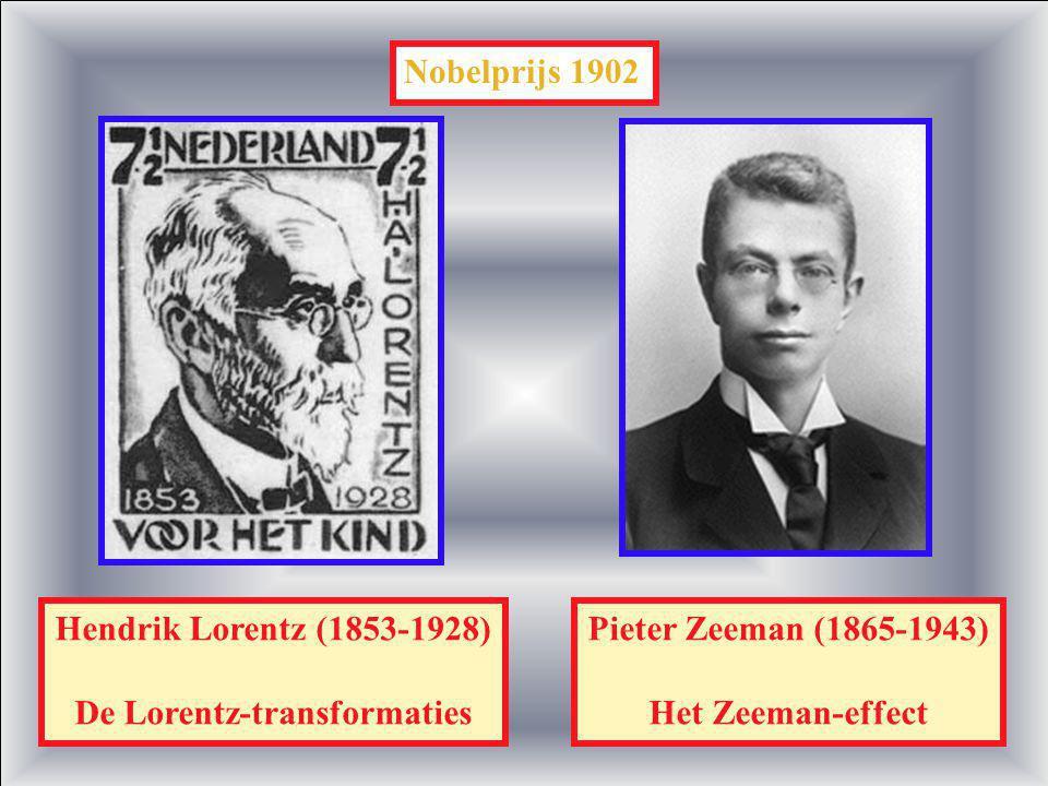 De Lorentz-transformaties