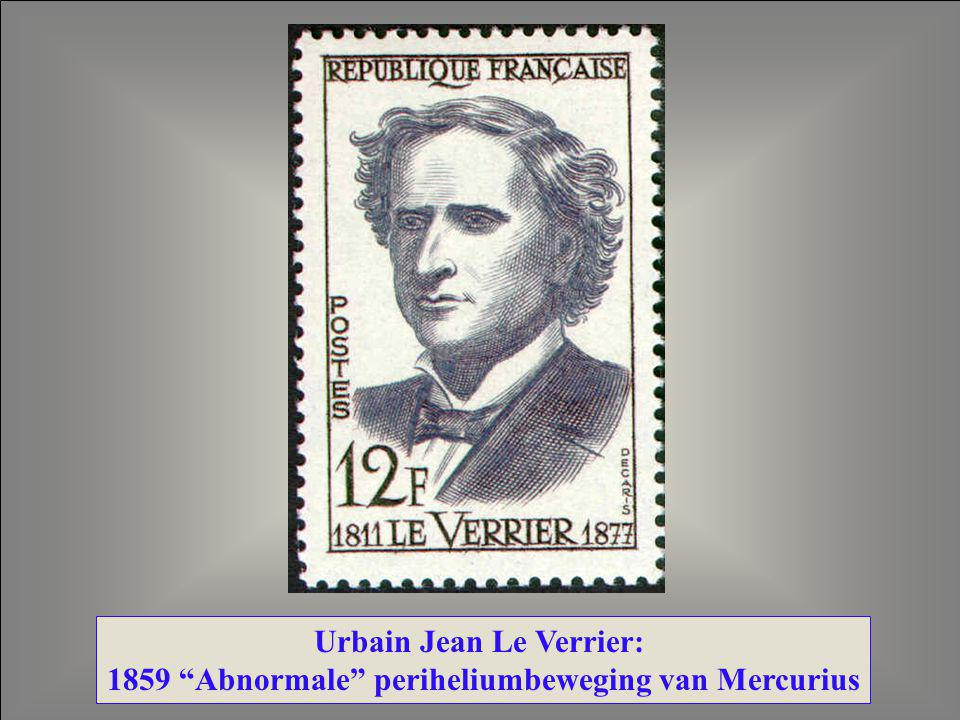 Urbain Jean Le Verrier: