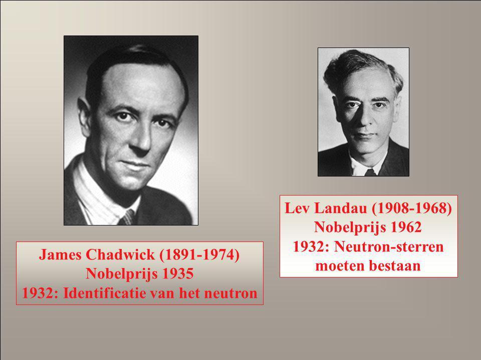 1932: Identificatie van het neutron