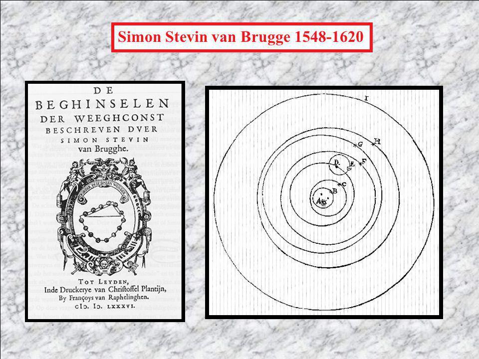 Simon Stevin van Brugge 1548-1620