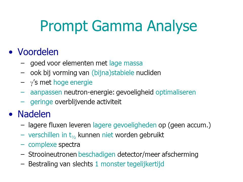 Prompt Gamma Analyse Voordelen Nadelen