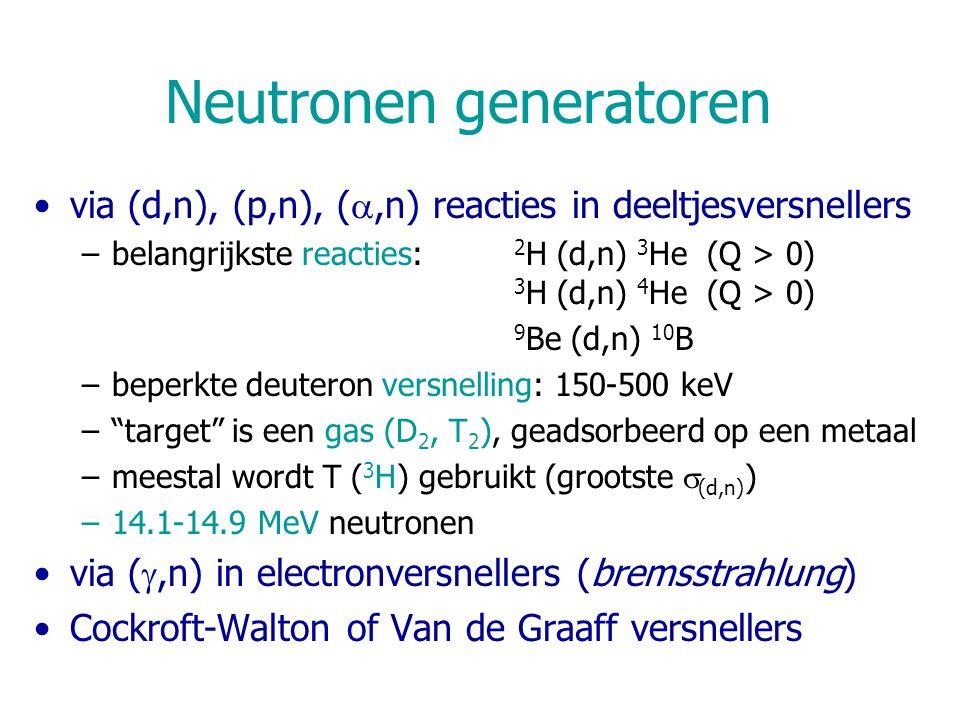Neutronen generatoren