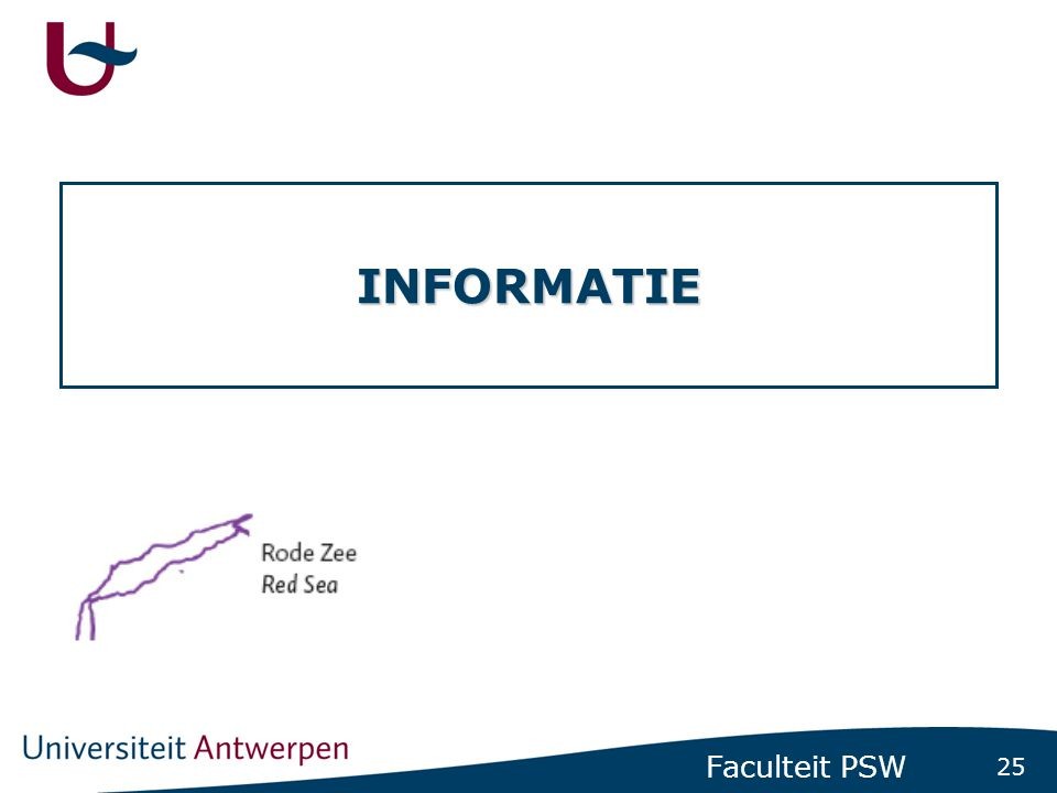 Informatie Infostands aula rector Dhanis Brochures Website
