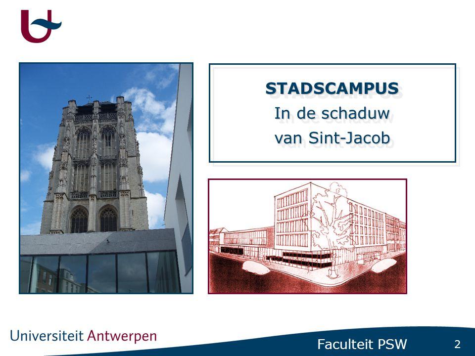 Inschrijvingsdienst Faculteit PSW (Ver)nieuw(d)e hoofdbibliotheek