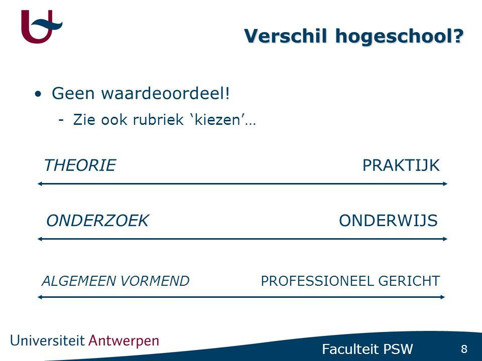 Hogeschool – Universiteit