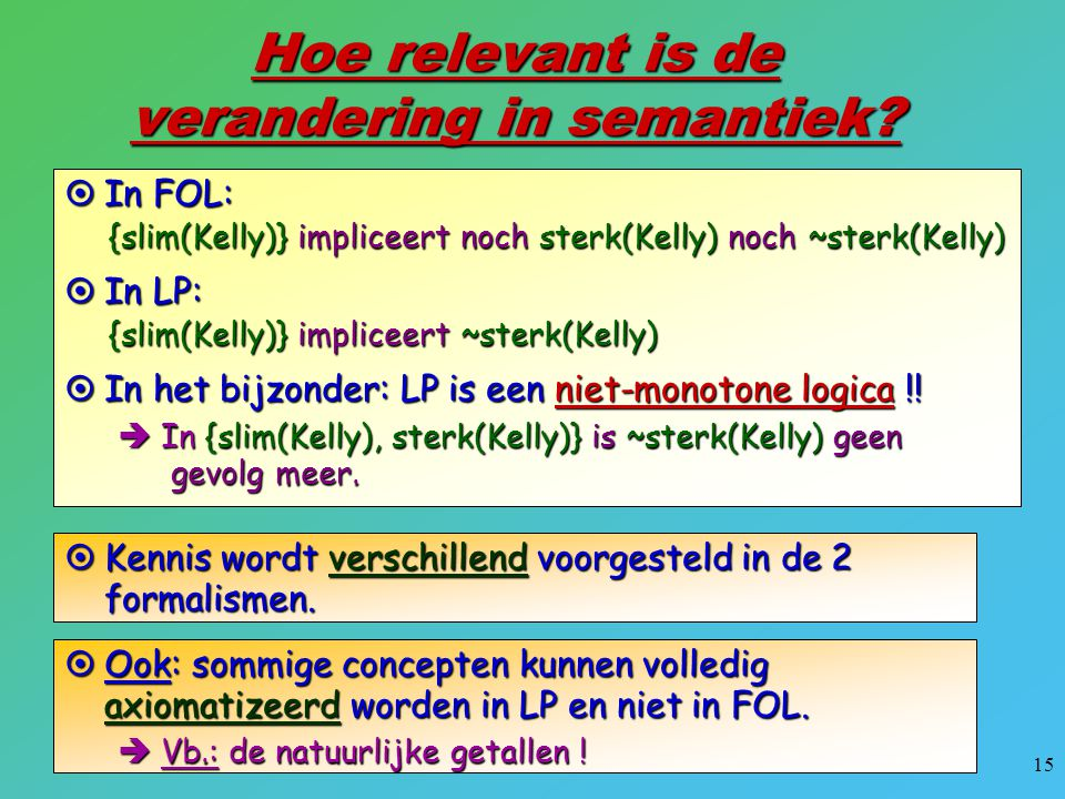 Hoe relevant is de verandering in semantiek