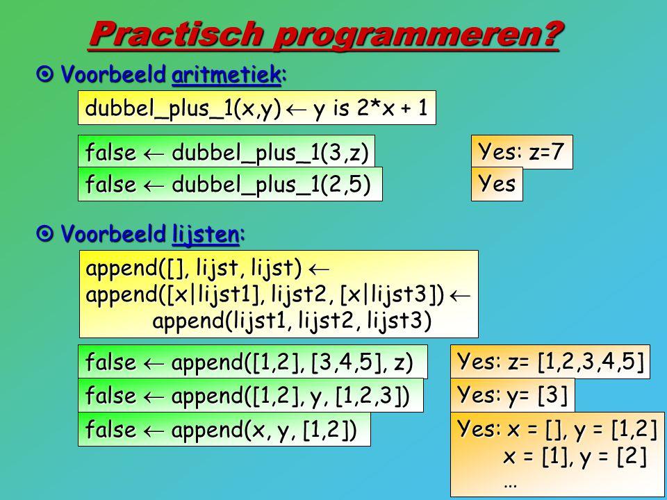 Practisch programmeren