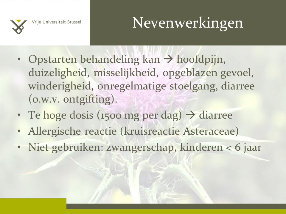 Nevenwerkingen