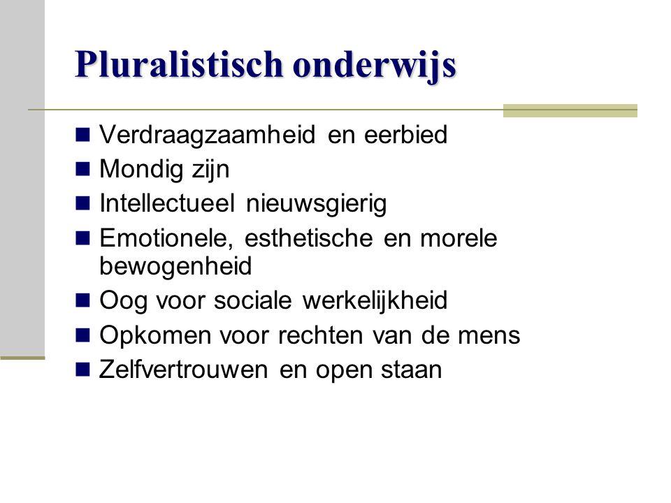 Pluralistisch onderwijs