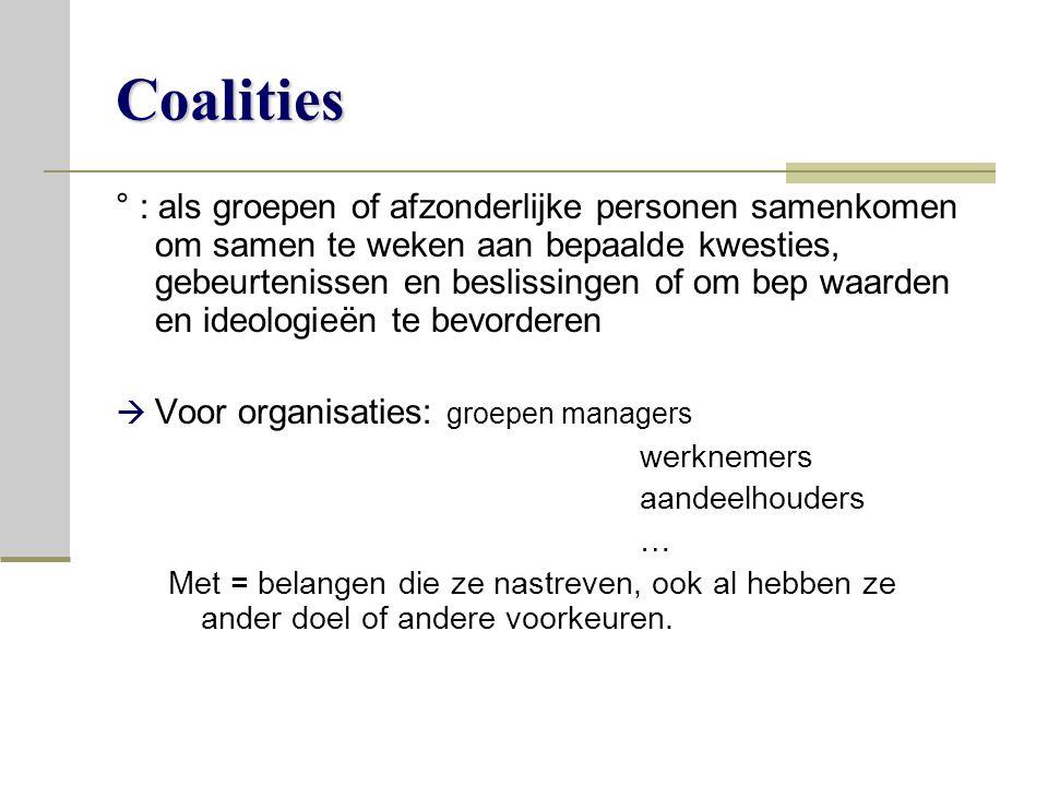 Coalities