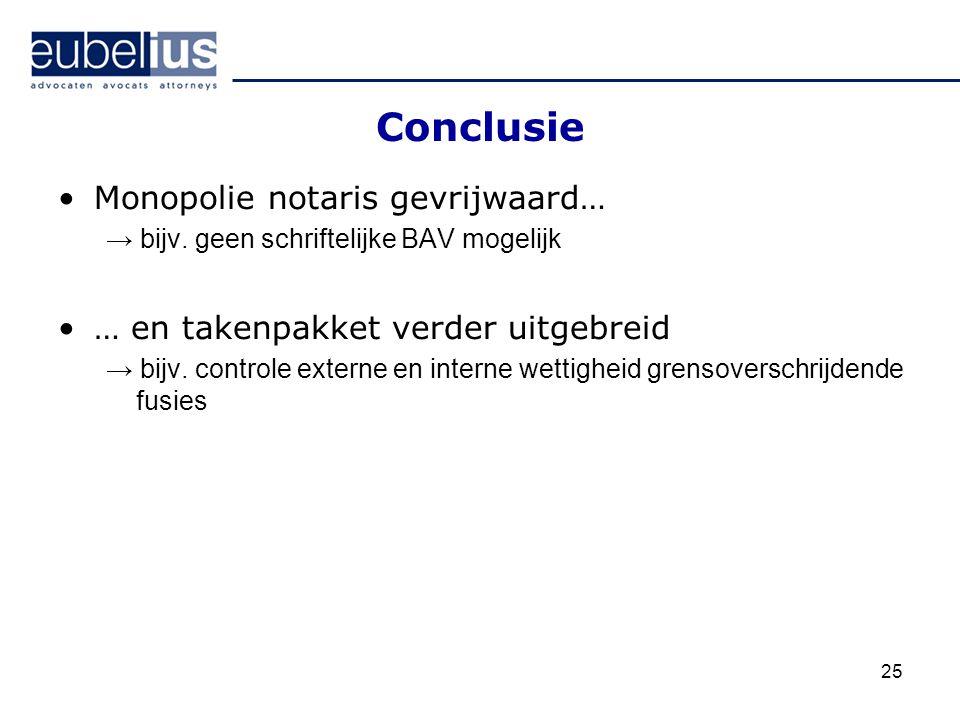 Conclusie Monopolie notaris gevrijwaard…
